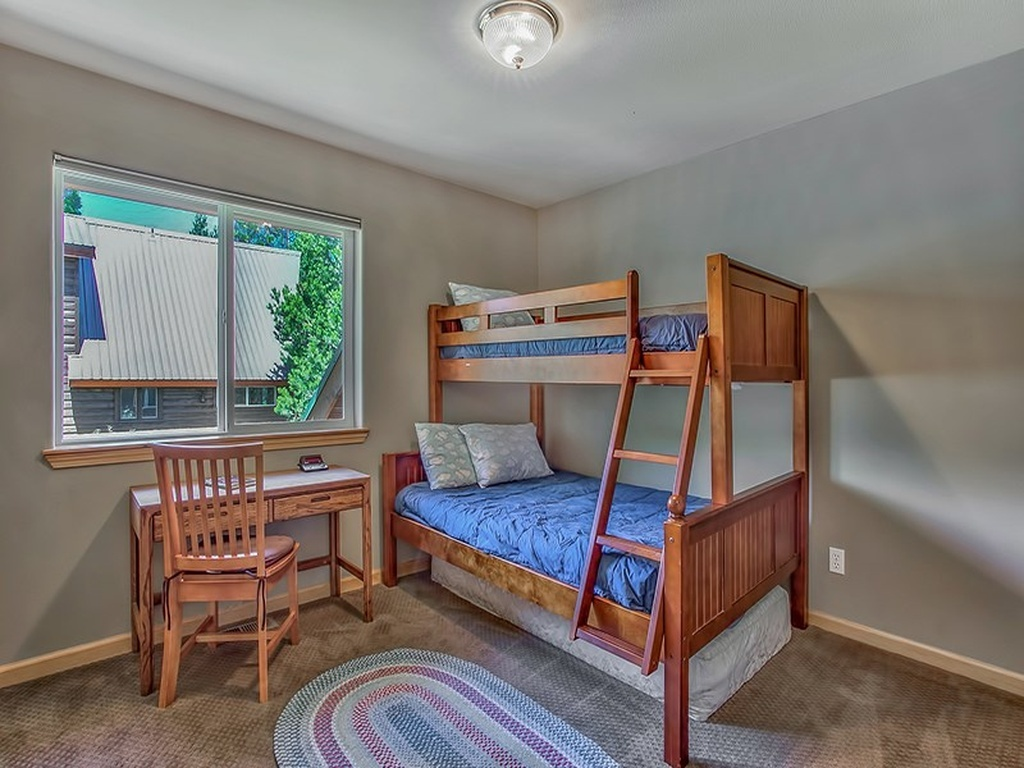 Third Bedroom Has A Bunk With A Full And Twin Bed, TV/DVD/VCR For The Kids